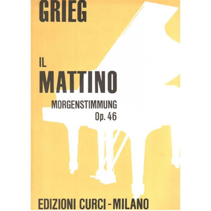 CURCI GRIEG Edward - IL MATTINO