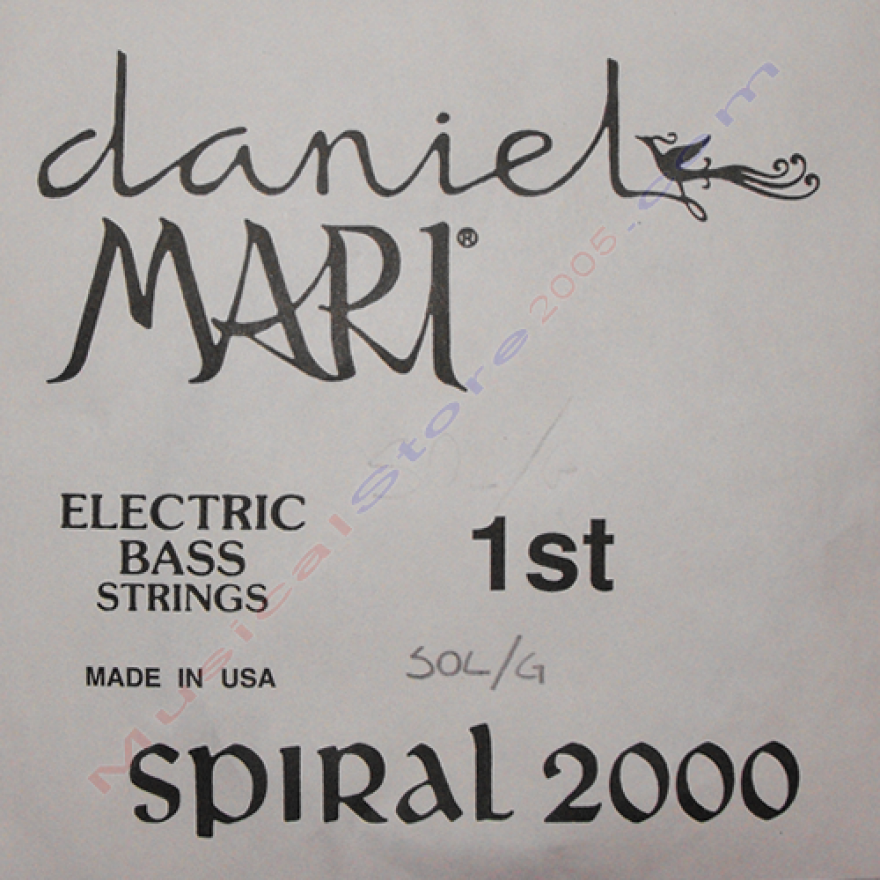 DANIEL MARI 750 1ST - CORDA SINGOLA PER BASSO ELETTRICO