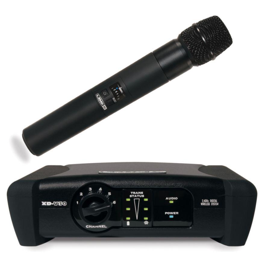 LINE6 XD V30 - RADIOMICROFONO DIGITALE PALMARE