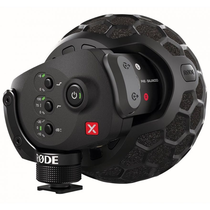 RODE STEREO VIDEOMIC X - MICROFONO PER VIDEO/FOTOCAMERA
