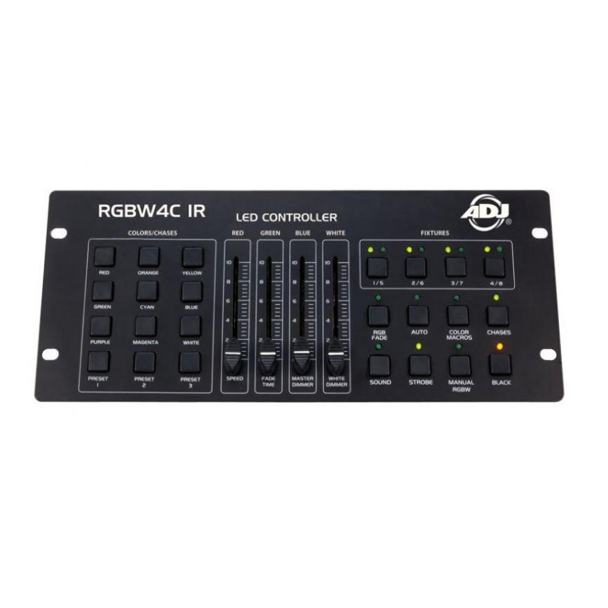 0-AMERICAN DJ RGBW4C IR - C
