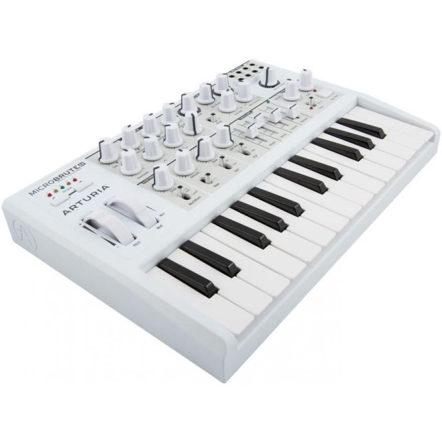 ARTURIA MicroBrute SE Bianco - Sintetizzatore Analogico 25 tasti