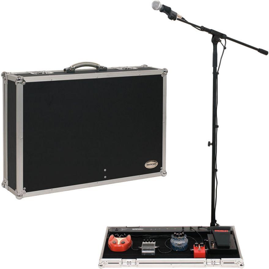 ROCKCASE RC23150B/220V - Gigboard CON STAND PER MICROFONO