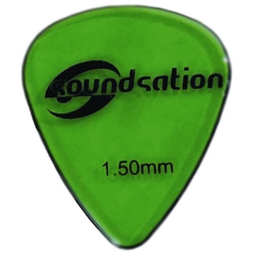 SOUNDSATION SPT-600-150 - Plettri clear nylon 1.50 (72 pezzi)