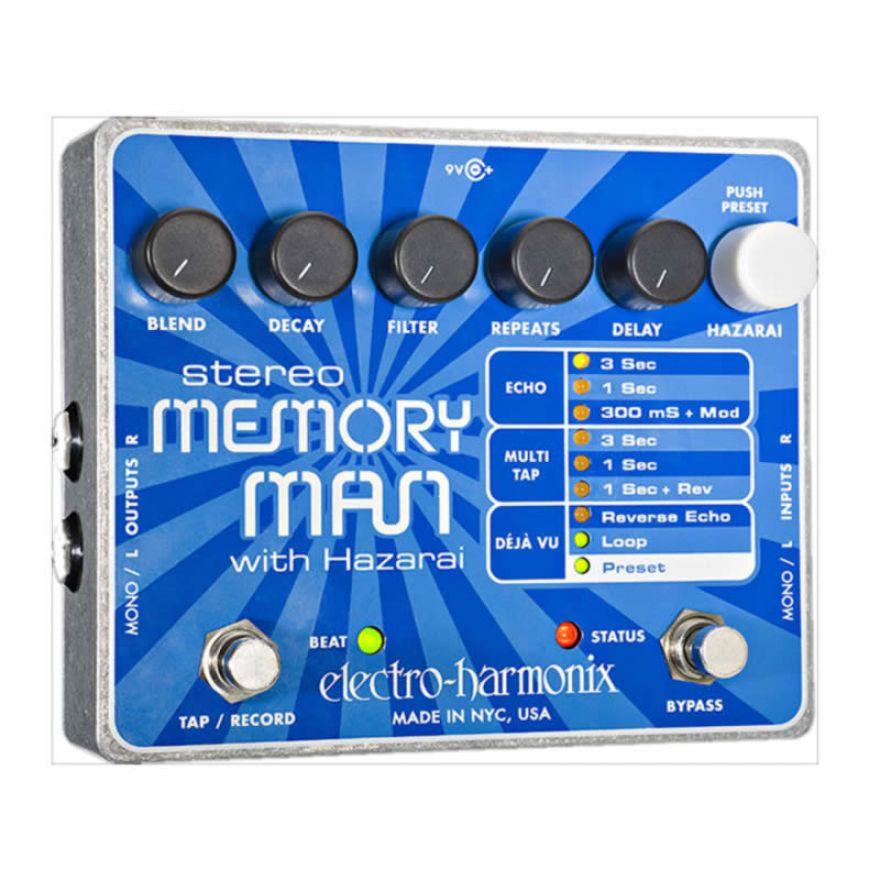 ELECTRO HARMONIX STEREO MEMORY MAN-DIGITAL DELAY/LOOPER