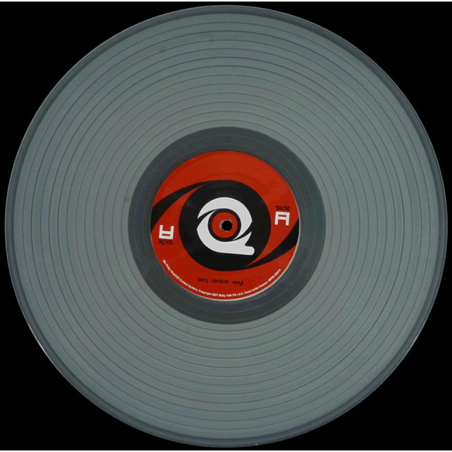 M-AUDIO TORQ CONTROL VINYL GHOST - VINILE SEMITRASPARENTE X TORQ