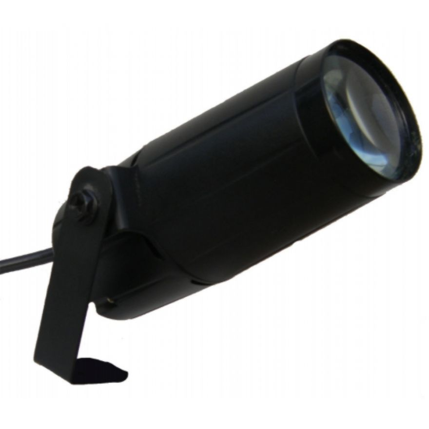 FLASH LED PIN SPOT 3W - PROIETTORE A LED BIANCO DA 3W