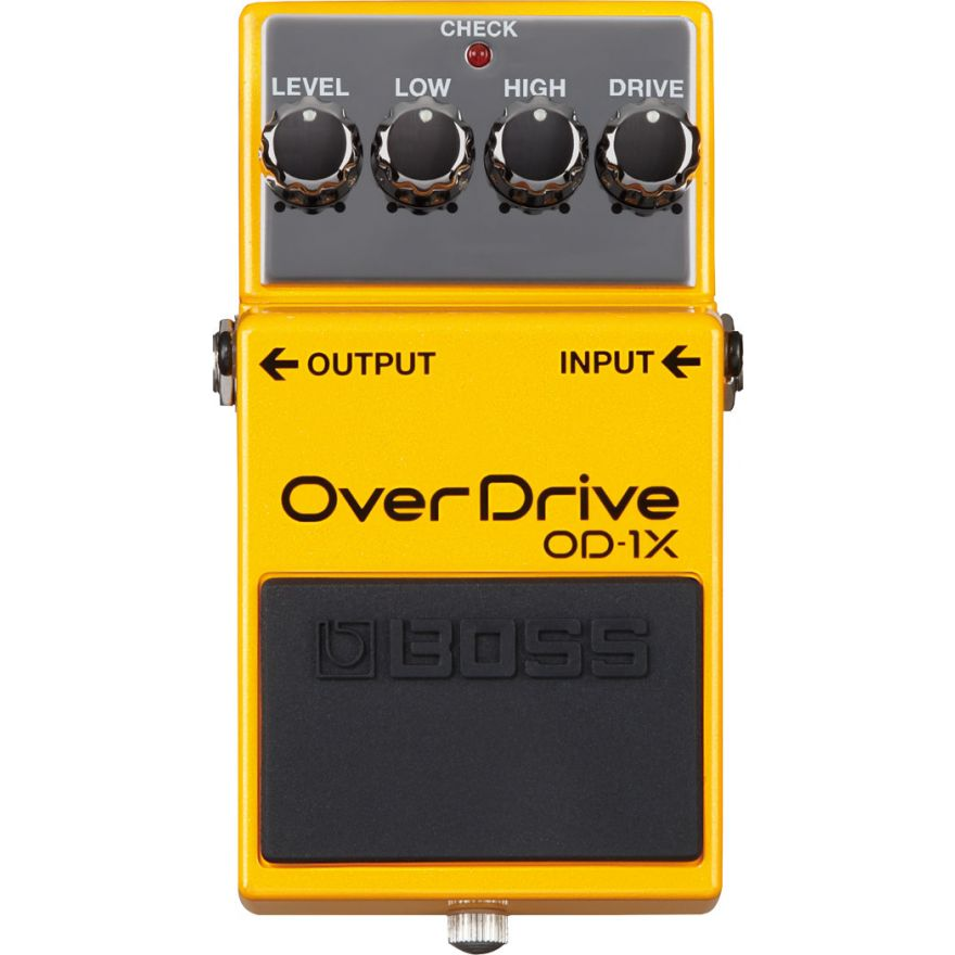 0-BOSS OD1X Pedale Overdriv