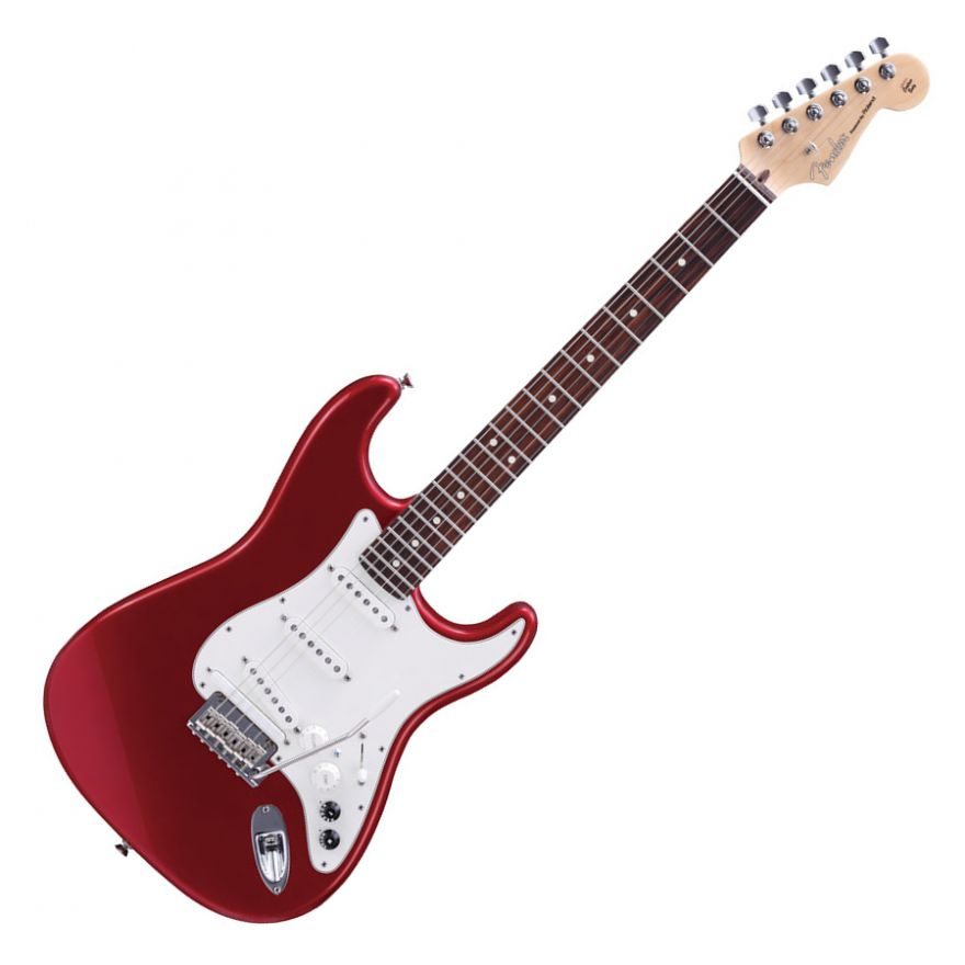 ROLAND G5A CAR Candy Apple Red - VG American Stratocaster by Fender