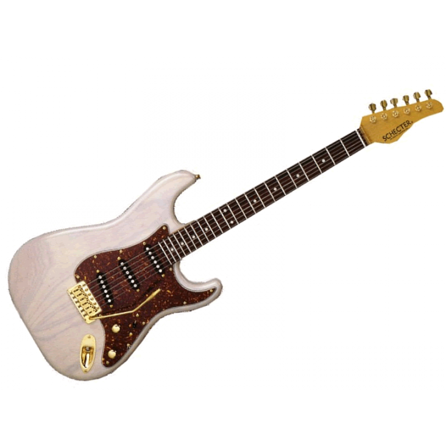 SCHECTER TRADITIONAL T-WHT/R USA CUSTOM SHOP