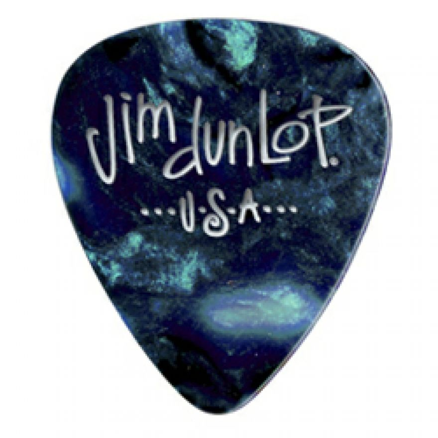 DUNLOP 483P#11 - 12 PLETTRI SPECIALTY 'GENUINE CELLULOID' THIN