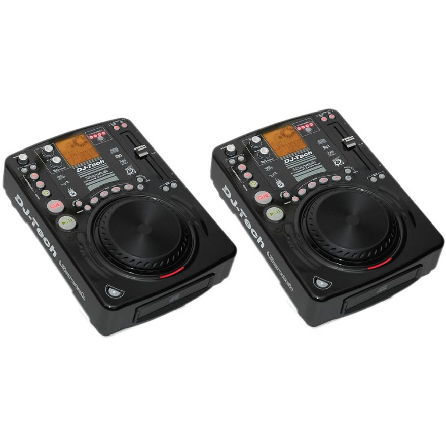 DJ TECH (coppia) ISCRATCH -Lettori cd per dj MP3