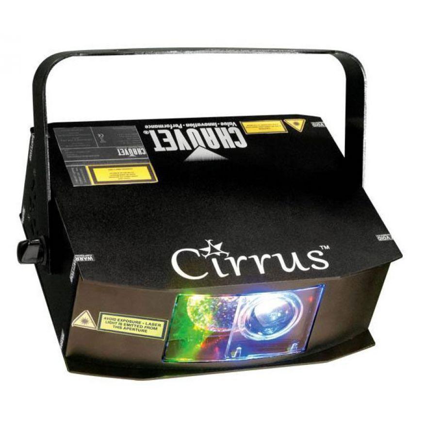 CHAUVET CIRRUS - EFFETTO LASER 2 COLORI + LED BLU DA 5W
