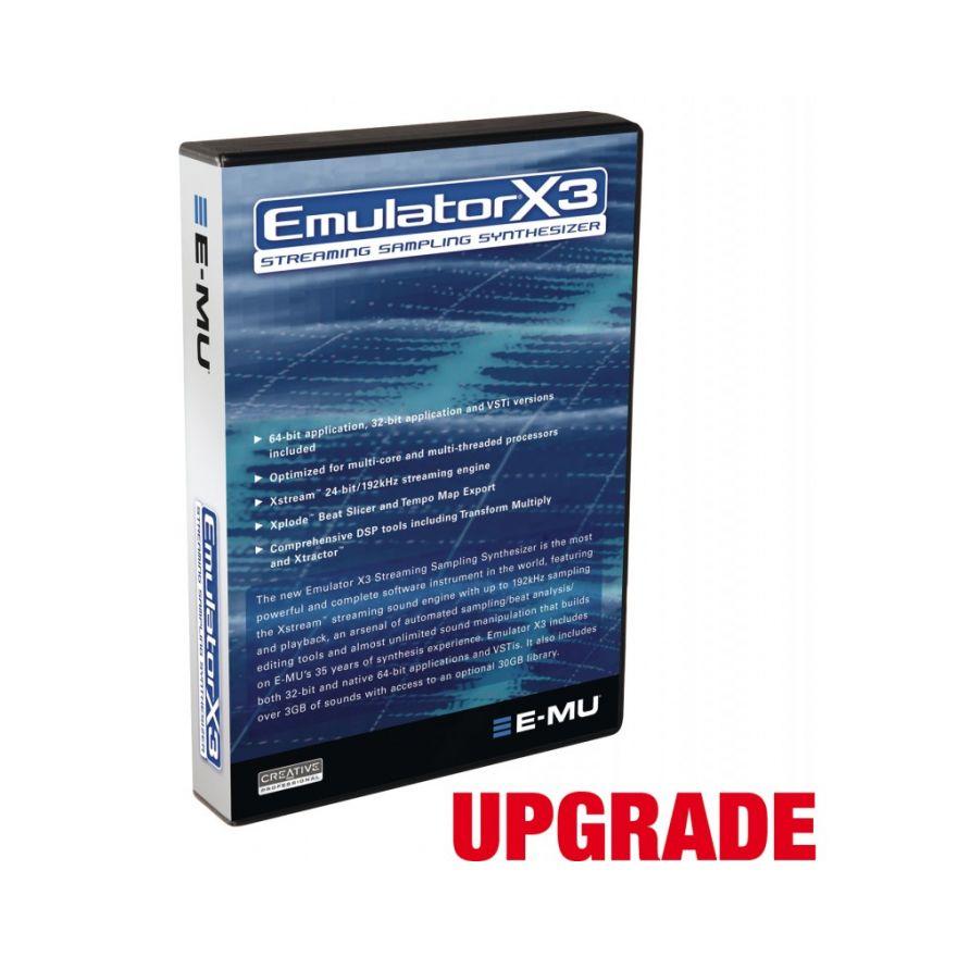 E-mu Emulator X 3.0 upgrade  da Proteus ad Emulator X3