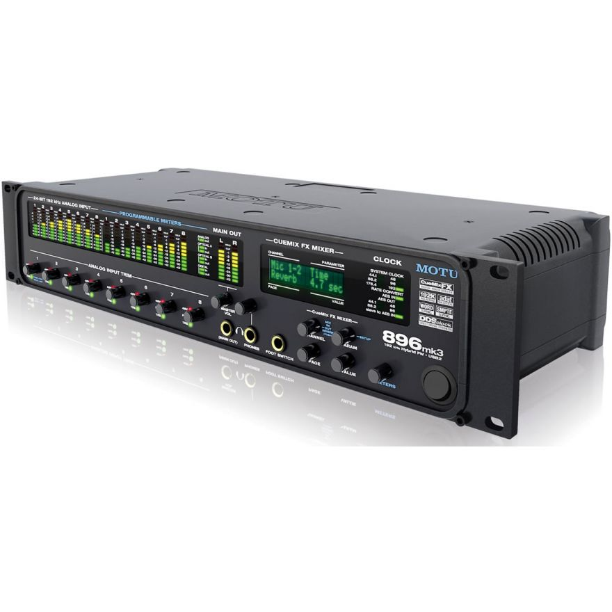 MOTU 896 MK3 Hybrid - SCHEDA AUDIO IBRIDA FIREWIRE/USB2 PER PC/M