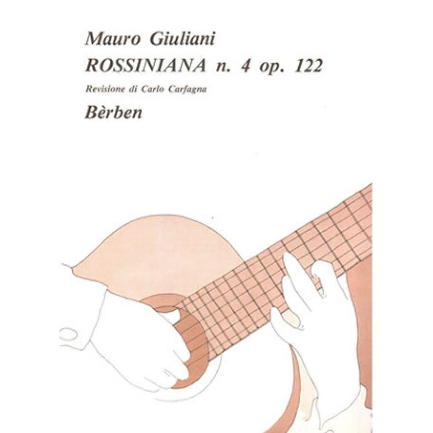 BÉRBEN Mauro Giuliani - ROSSINIANA N. 4 Op. 122