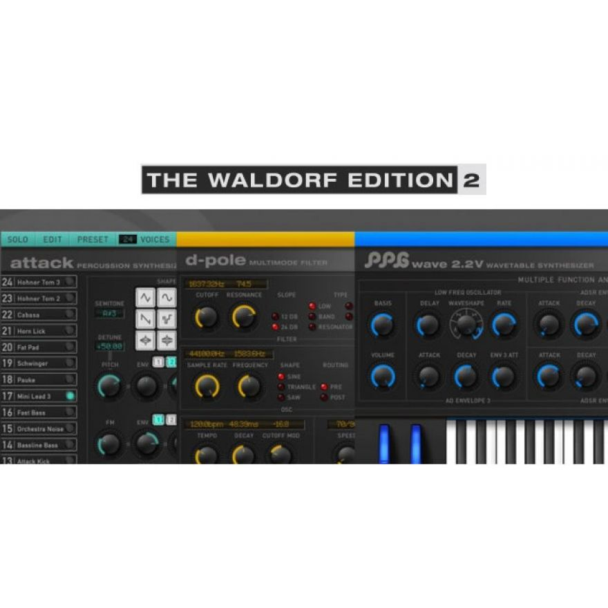 WALDORF Edition 2 - Suite Plug-in VST Instrument