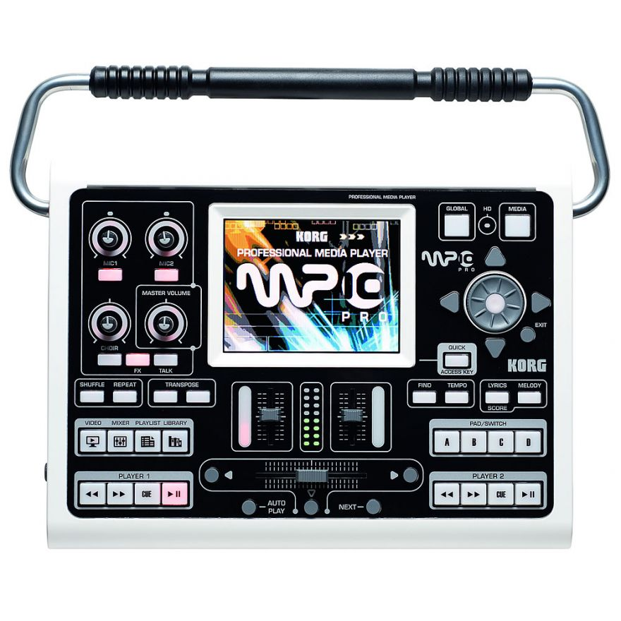 KORG MP10 PRO - MEDIA PLAYER PROFESSIONALE