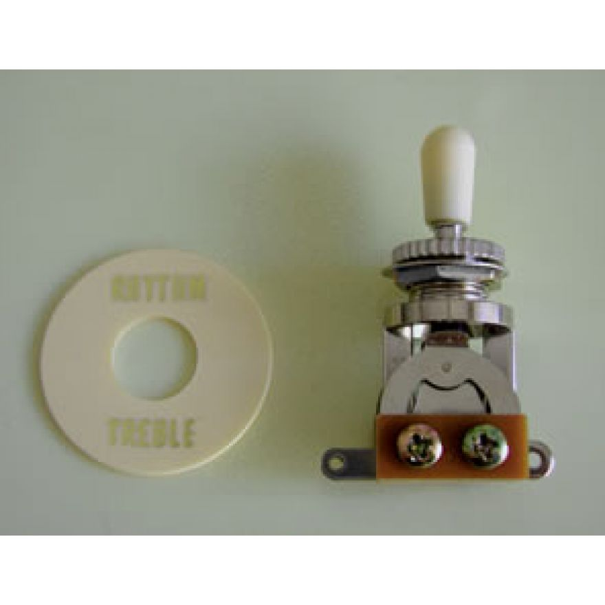 TOGGLE SWITCH SW20C CON CAPPUCCIO CREMA