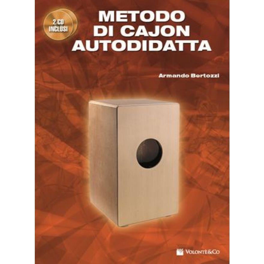 VOLONTE&CO. Bertozzi, Armando- METODO DI CAJON AUTODIDATTA(+2CD)
