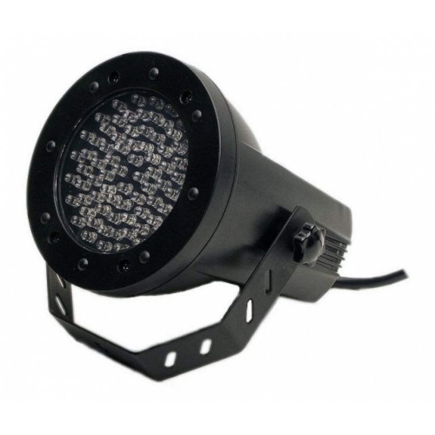 FLASH LED PAR 36 DMX - EFFETTO LUCE A 76 LED