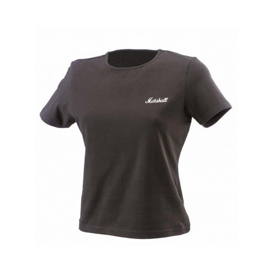 MARSHALL Crew - Neck T-shirt da donna con Logo (M) - SHRT00090