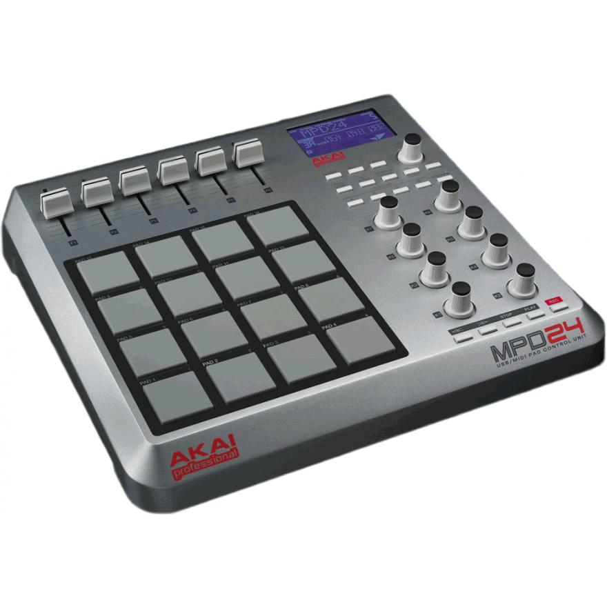 0-AKAI MPD24 - MIDI CONTROL