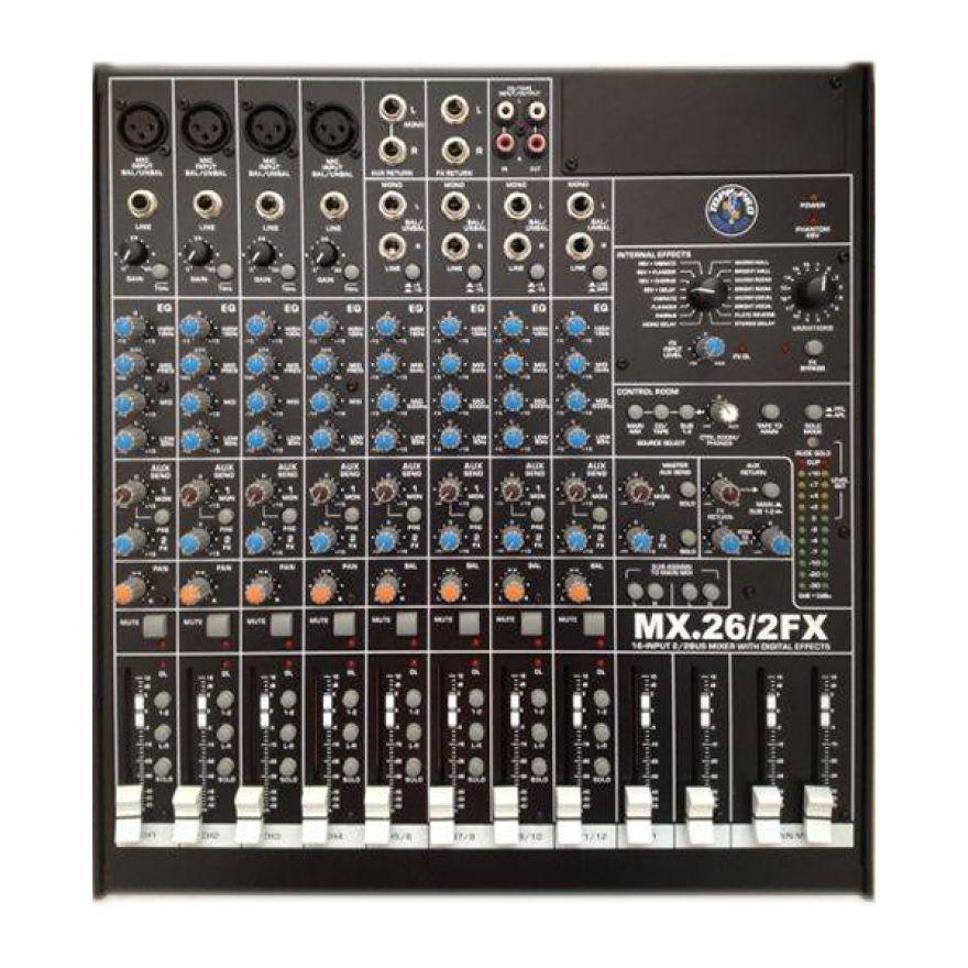 Topp Pro MIX26-2 FX Mixer con effetti (Ultimo pezzo)