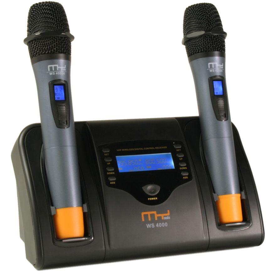 MyAudio WS4000H - SISTEMA UHF A 2 CANALI CON CONTROLLO DIGITALE
