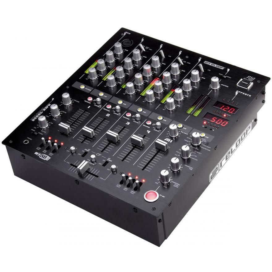 RELOOP RMX40 USB - Mixer DJ Professionale con 2 porte USB