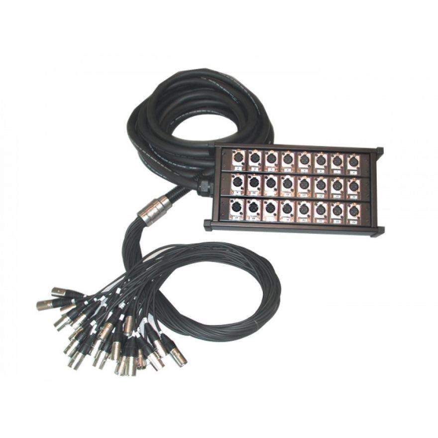 QUIKLOK BOX235 - STAGE BOX 24 IMPUT/8 OUTPUT  30 M