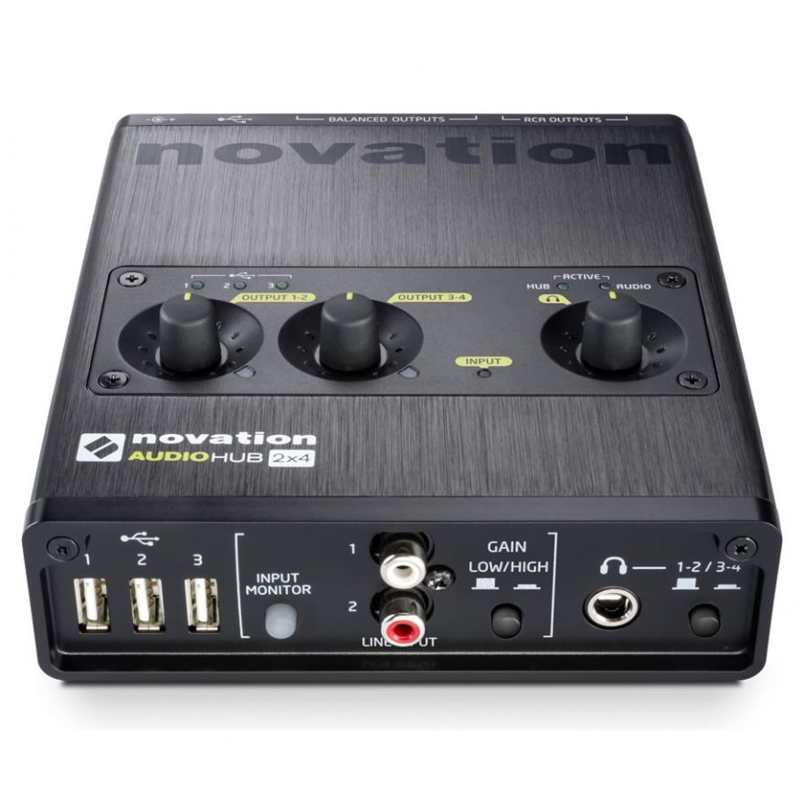 0-NOVATION AUDIOHUB 2x4 - I