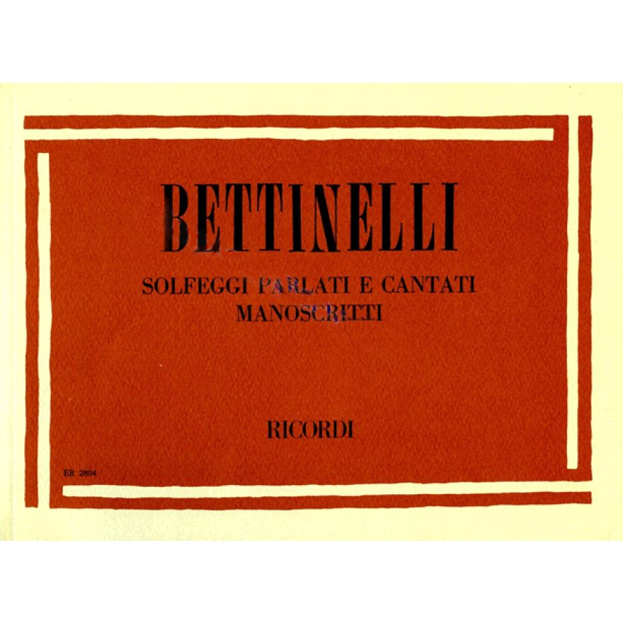 0-RICORDI Bettinelli, B.- S