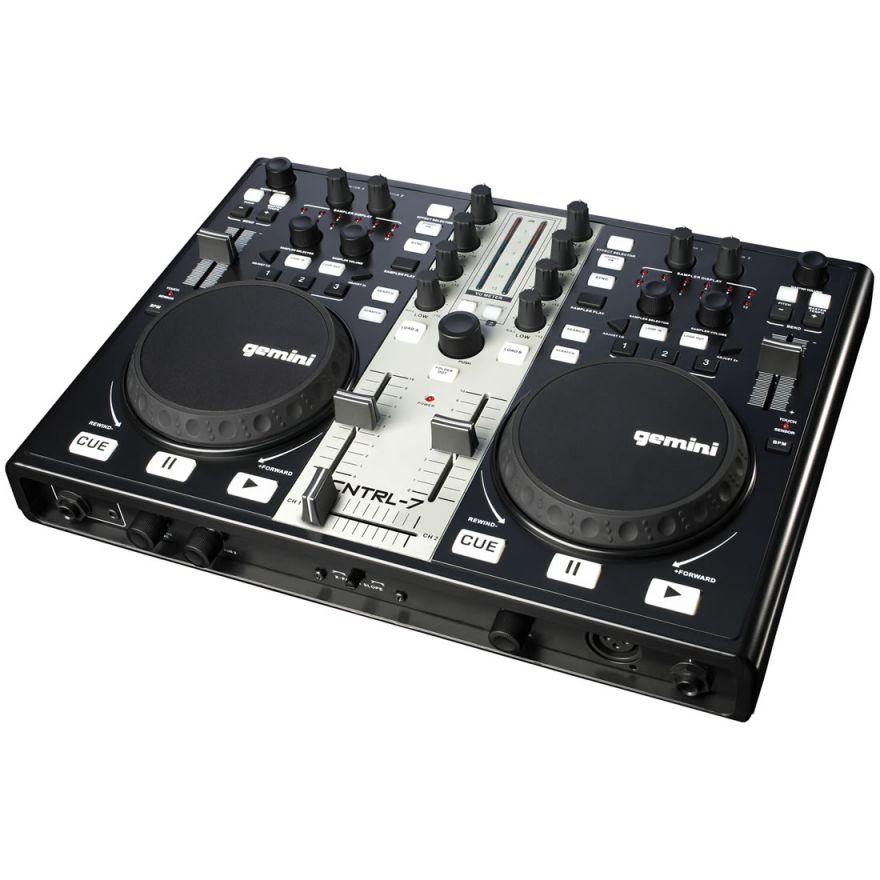 GEMINI CNTRL7 - CONTROLLER MIDI USB PER DJ CON SCHEDA AUDIO