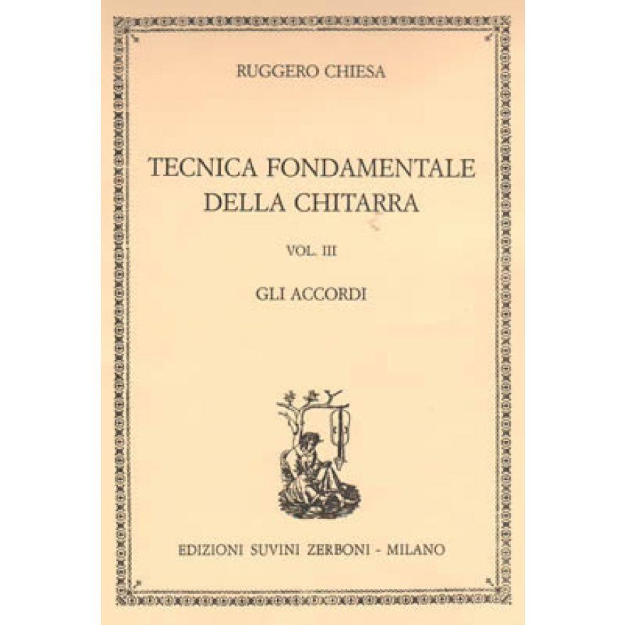 ESZ Chiesa - TECNICA FONDAMENTALE Vol. III: GLI ACCORDI
