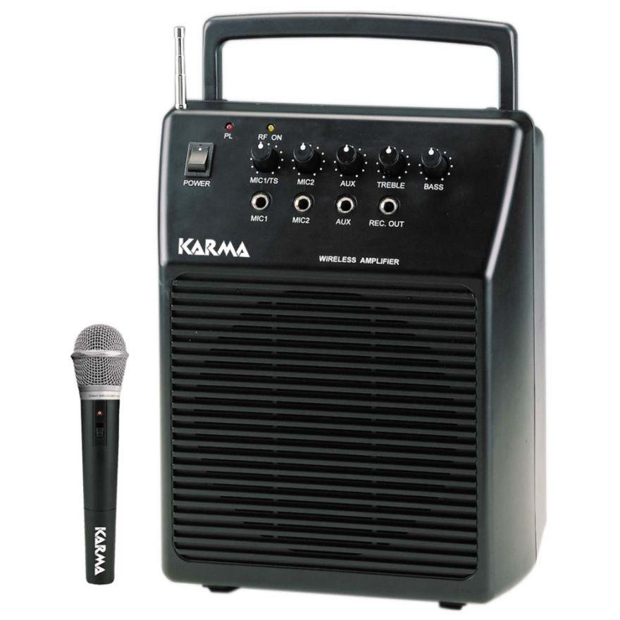 KARMA BM 570 - BOX AMPLIFICATO CON RADIOMICROFONO