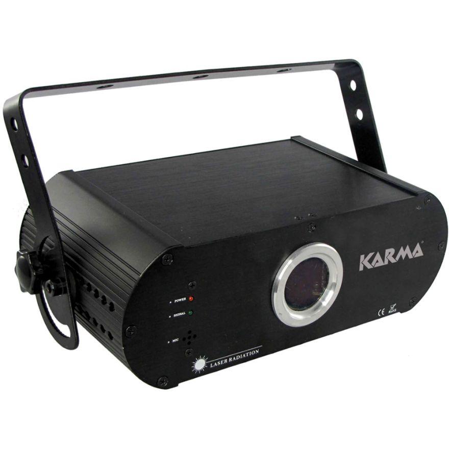 KARMA LASER 600RGB - LASER RGB CON ILDA E SD