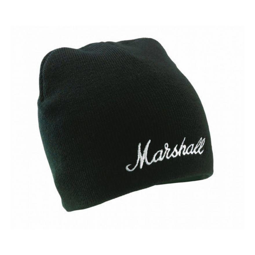 MARSHALL Cappellino di Lana nero con Logo -  ACCS00039