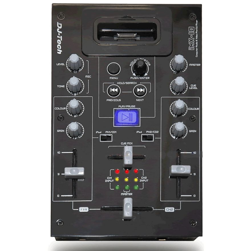 0-DJ TECH iMX10 - iPOD DOCK