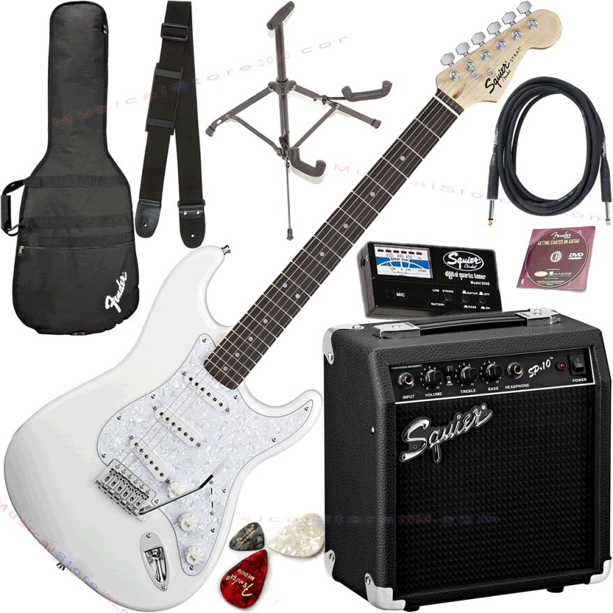 0-FENDER SQUIER PACK SE SPE