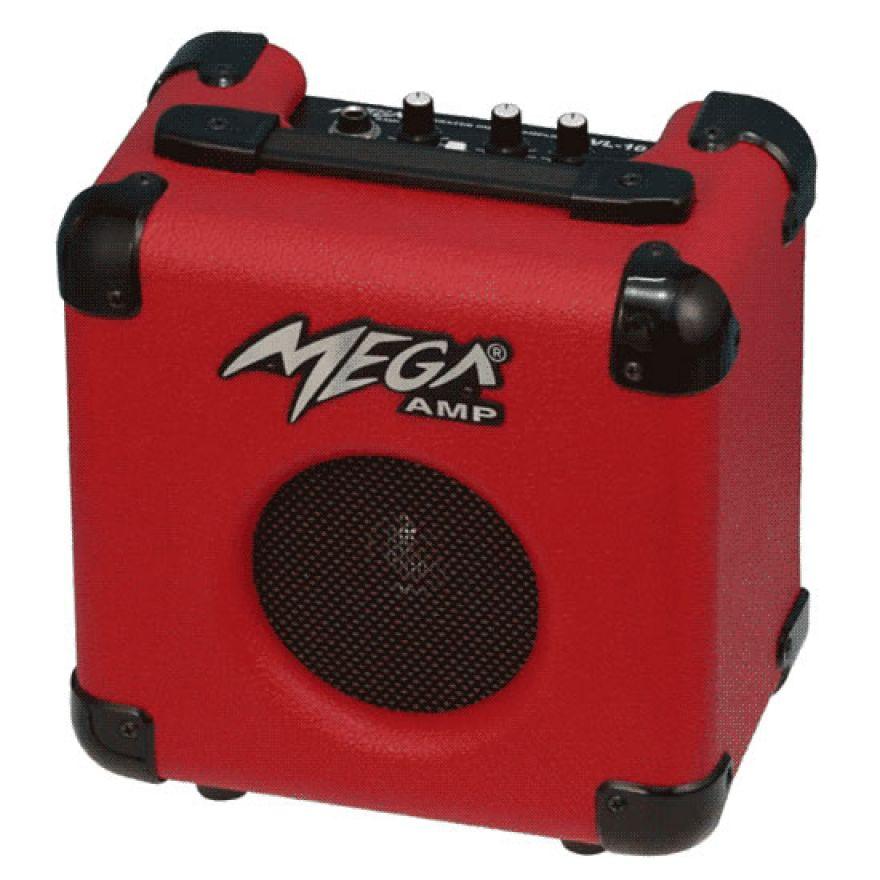 MEGA VL10 RED - AMPLIFICATORE PER CHITARRA ELETTRICA 10W