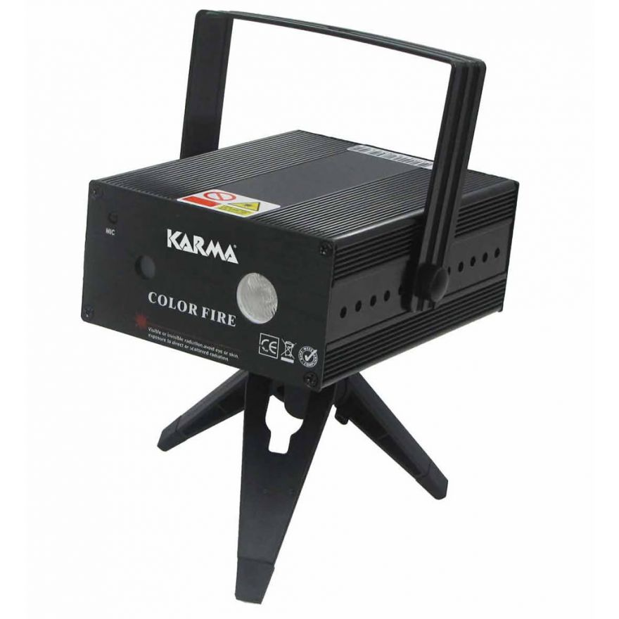 KARMA COLOR FIRE 160 - Laser Rosso/Verde con led