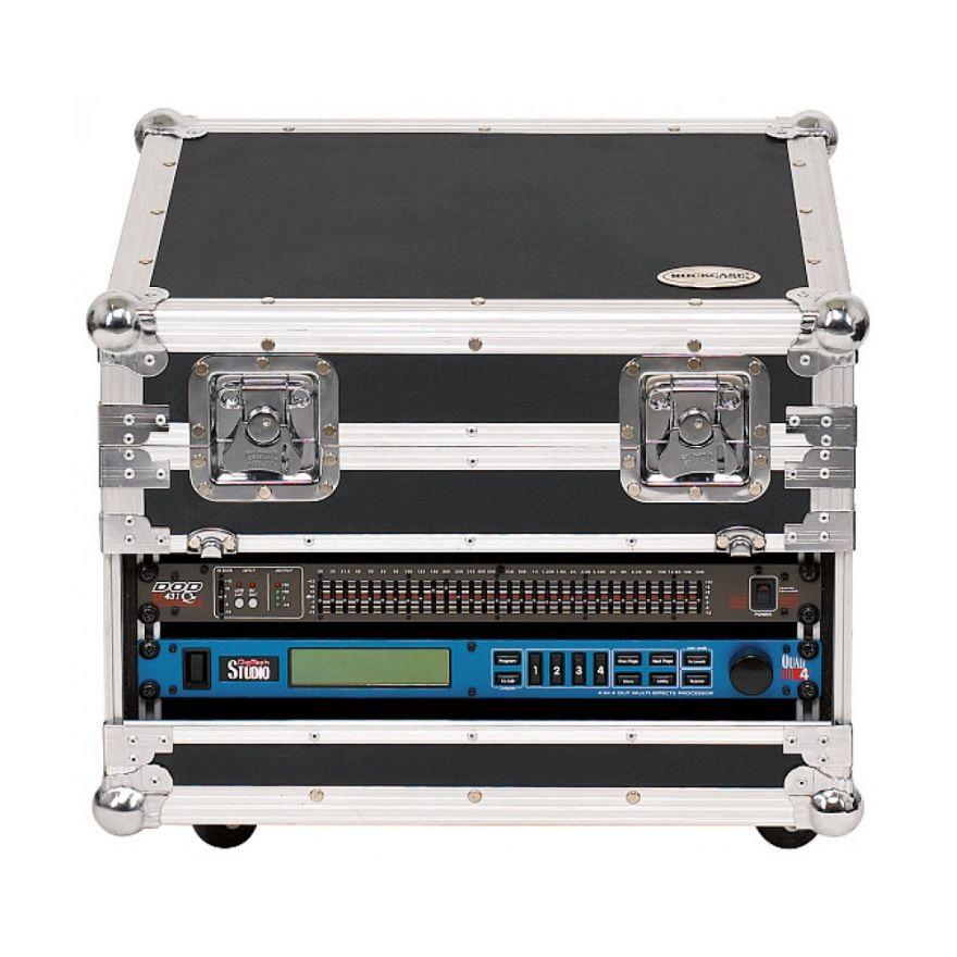 ROCKCASE RC23710B Mixcase con ruote per Mackie MS 1202/1402 VLZp