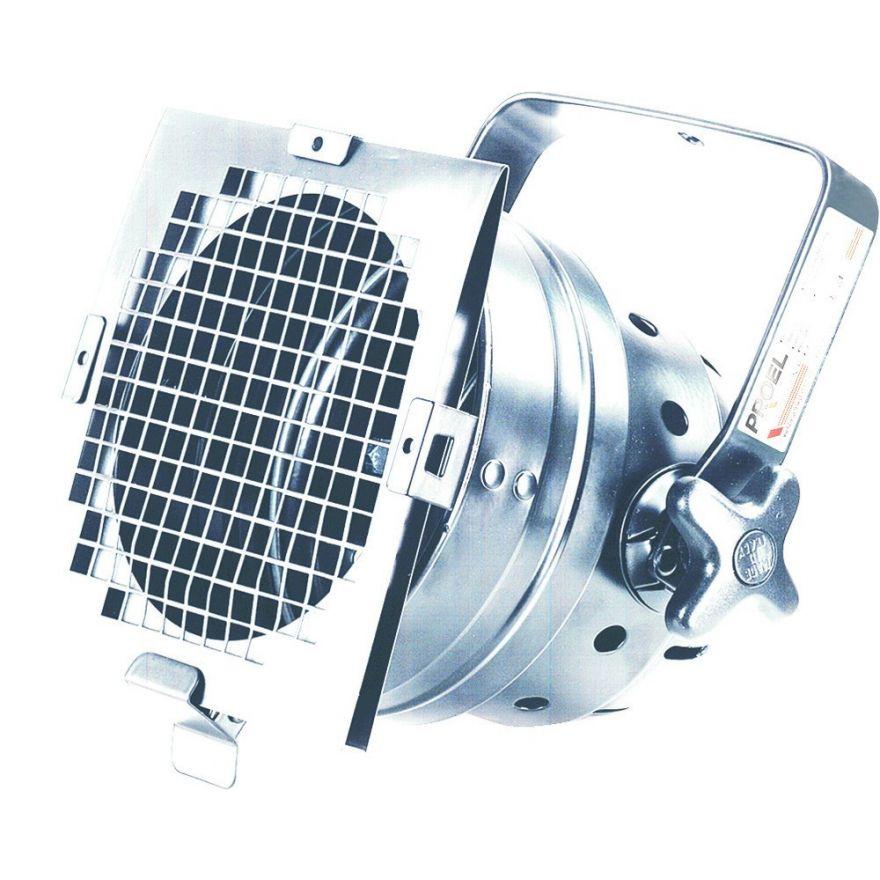 PROEL PAR 56 CORTO ALLUMINIO - Proiettore per lampada PAR56