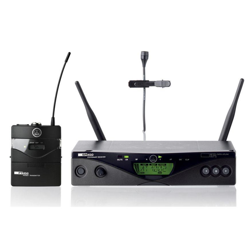 AKG WMS450 PRESENTER SET - RADIOMICROFONO LAVALIER