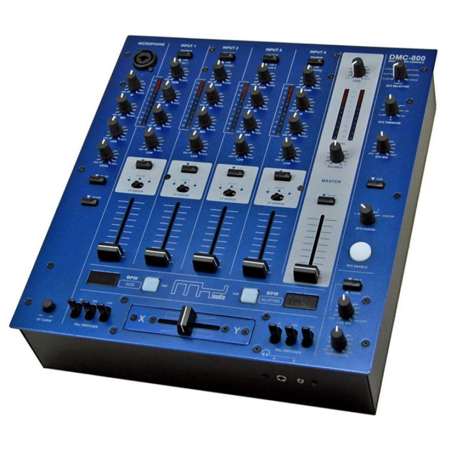 MyAudio DMC800USB - MIXER DJ 5 CANALI CON 2 PORTE USB