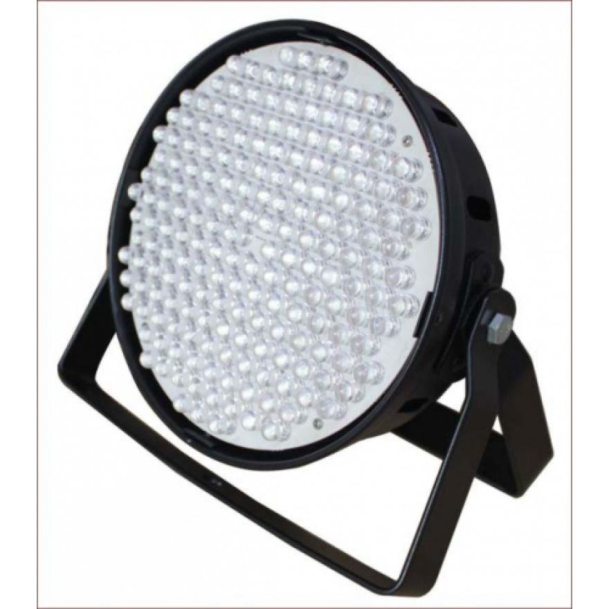 FLASH LED PAR 64 186X RGBW DMX Black II EV. - EFFETTO LUCE A LED