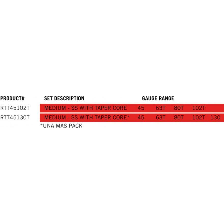 Dunlop RTT45130T CUSTOM MED SS 5/Set
