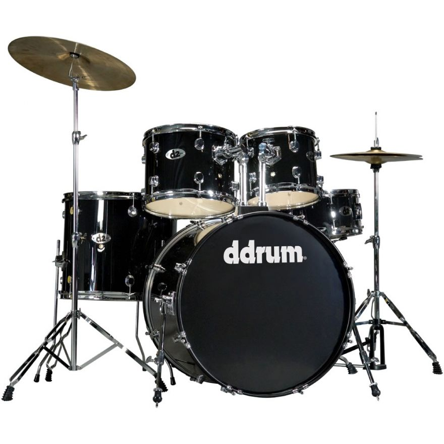 DDrum D2 MB Midnight Black - BATTERIA ACUSTICA KIT COMPLETO