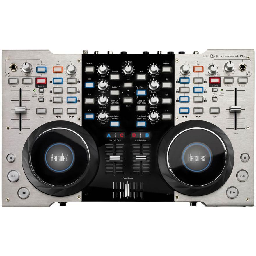 HERCULES 4MX DJ Console